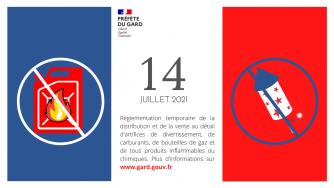 14 juillet : règlementation temporaire de la distribution et de la vente au détail