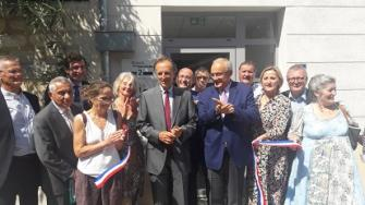 Inauguration de la Maison des Services de Vallabrègues