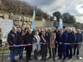 Inaugurations sur la commune de Valleraugue