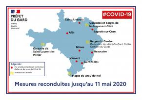 Reconduction des mesures relatives à la lutte contre la propagation  du virus COVID-19