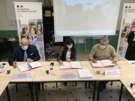 Signature de la convention « Cité Éducative » de la ville de Nîmes