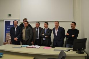 Signature des conventions des « Points Accueils Motards »