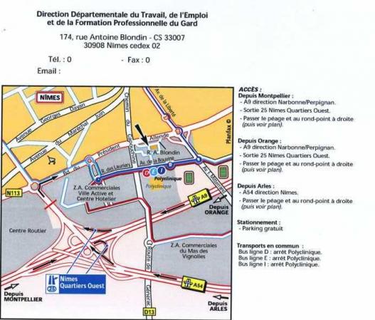 Acces Unite Departementale De La Direction Regionale Des